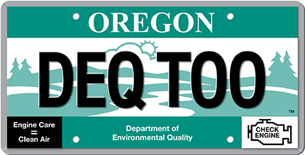 The Deq Too Logo Looks Like A License Plate Because Motorists Are Trying To Renew Their Dmv Registration Stickers So They Don T Expire